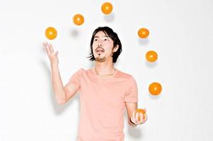 Man-juggling